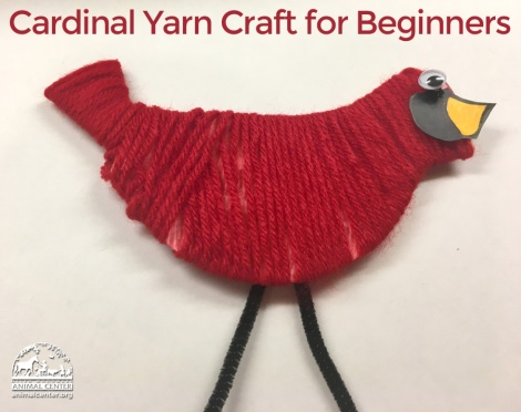 Yarn Crafts For Kids Holiday Bird Yarn Craft Pause For Tails